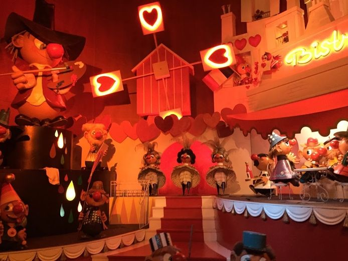 Beeld uit attractie Carnaval Festival.
