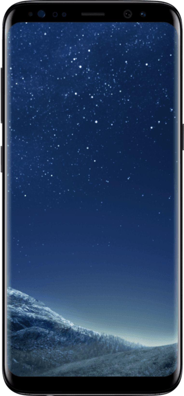 De Galaxy S8.