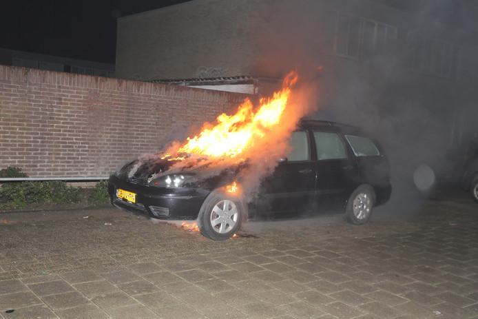 De brandweer gaat uit van een technisch mankement.