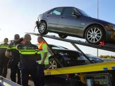 Vier auto's botsen op A1 richting Deventer, file opgelost