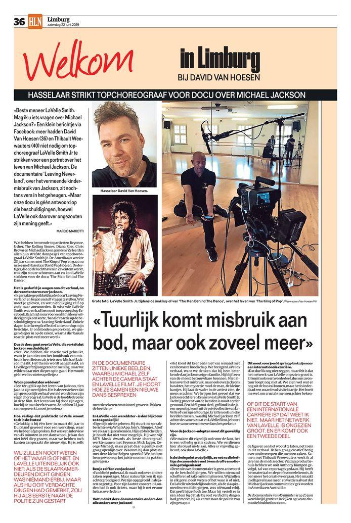Het artikel in de papieren versie van onze krant.