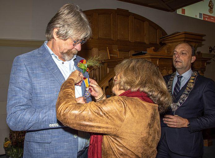 Henk Geertsema krijgt een koninklijke onderscheiding.