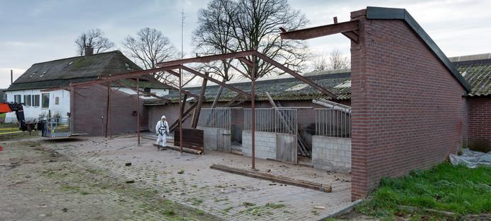 Boerderij Out-Herlaer in Sint-Michielsgestel wordt opgeknapt.