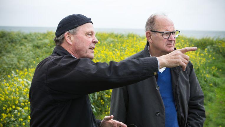 Erwin Krol en Philip Freriks in Lekker Weertje van omroep Max. Beeld Stef den Boer