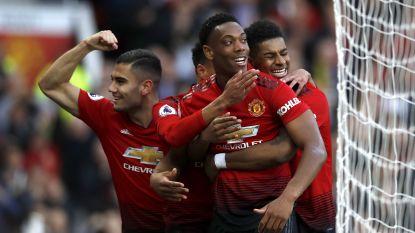 Man United verslaat Watford in eerste match sinds vaste benoeming Solskjaer, Lukaku komt niet van de bank