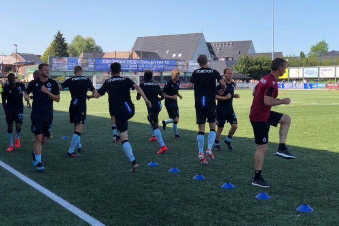 Opwarming Club Brugge.