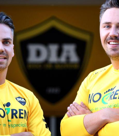 Broers Schilperoord herenigd bij DIA: 'Als we maar samen op het veld kunnen staan'