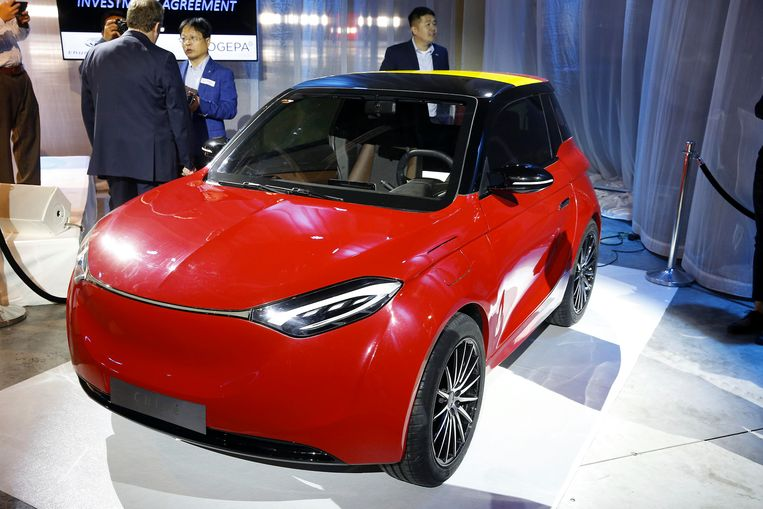 Chinese Autobouwer Wil Elektrische Wagens Bouwen In Charleroi Auto