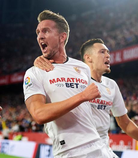Sevilla-ploeggenoten dolblij voor opgeluchte Luuk de Jong