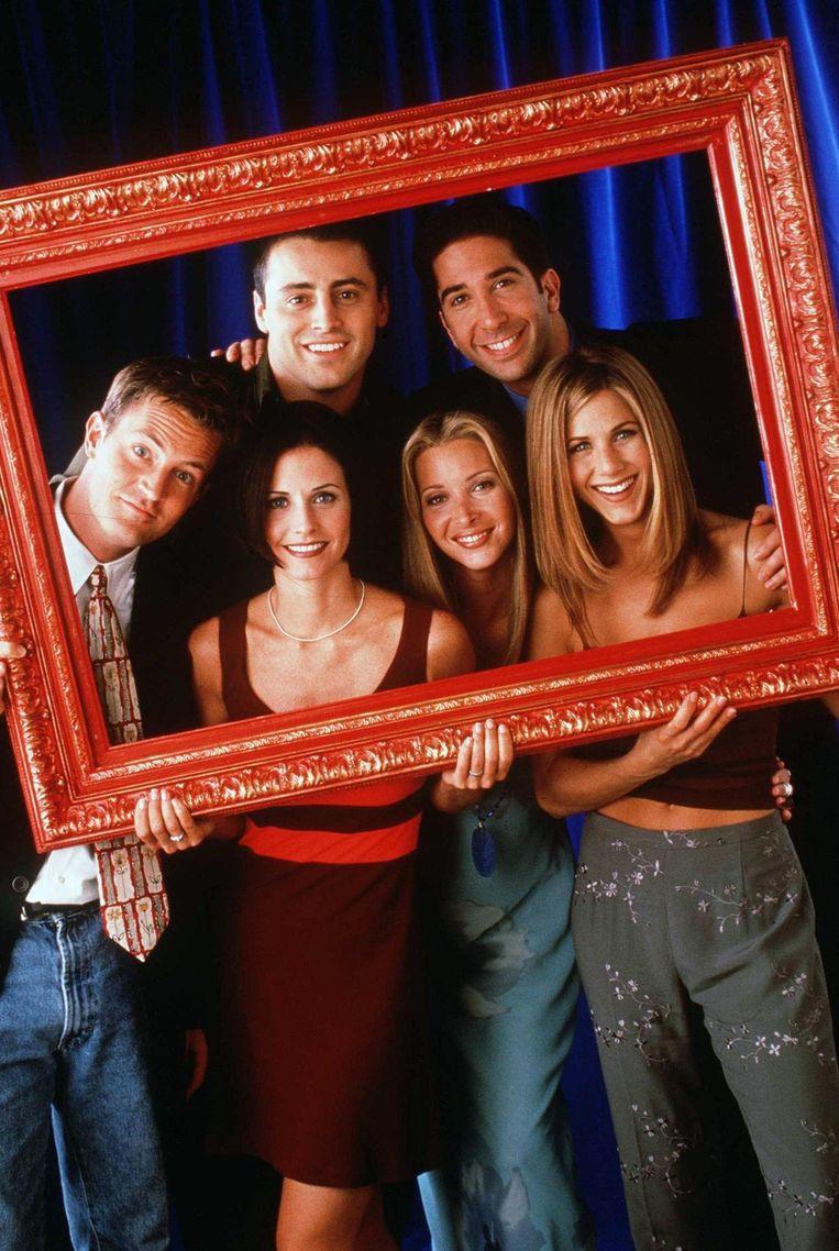 De cast van 'Friends'.