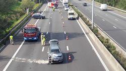 Twee rijstroken E40 dicht door ongeval in Wetteren