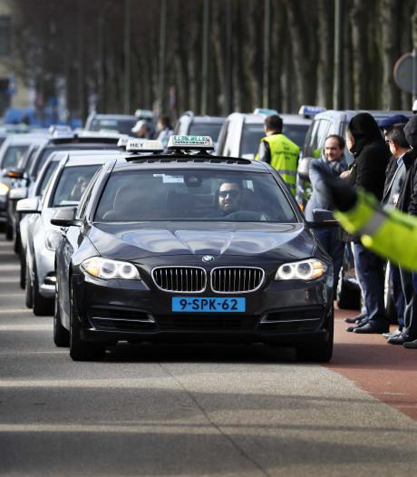 Weinig animo Eindhovense taxi's voor demonstratie tegen Uber