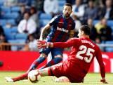 Real Madrid in Bernabéu pijnlijk onderuit tegen Levante