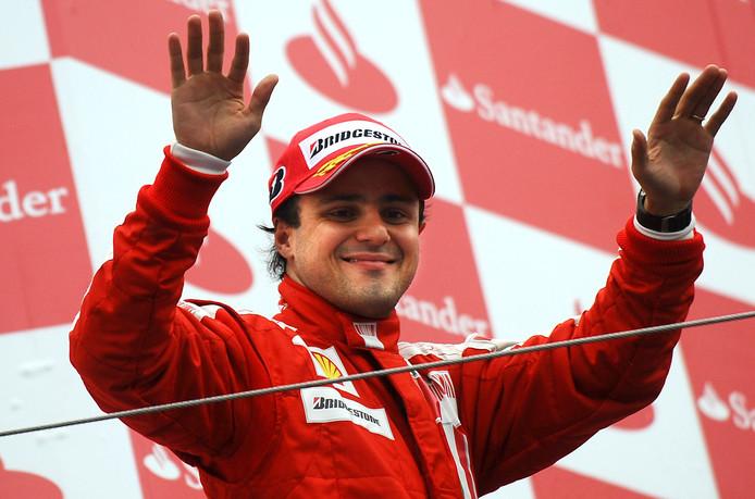 Felipe Massa in 2012 als coureur van Ferrari.