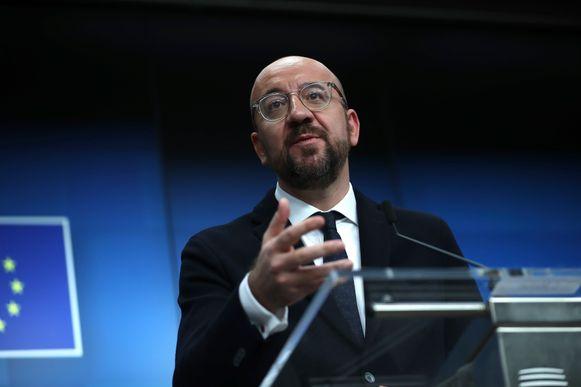 Oud-premier Charles Michel is nu president van de Europese Raad.