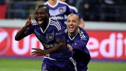 Acheampong flikt het weer: 'Mister Europe' knalt Anderlecht naar kwartfinale