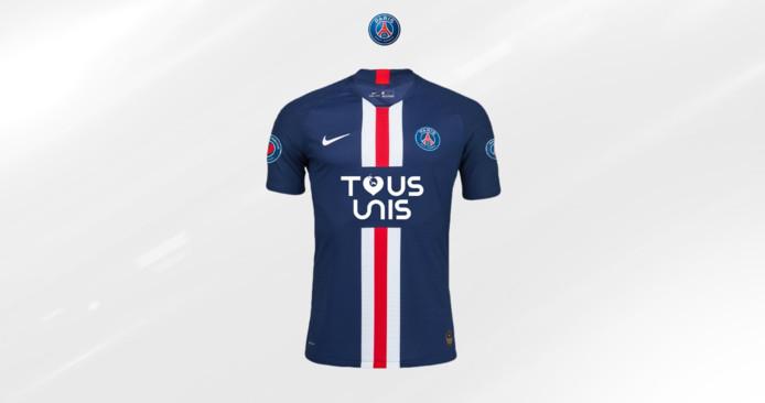 """Le maillot du Paris Saint-Germain """"Tous unis"""""""
