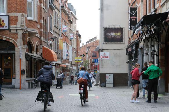 Ook in de Parijsstraat bleef het behoorlijk kalm.