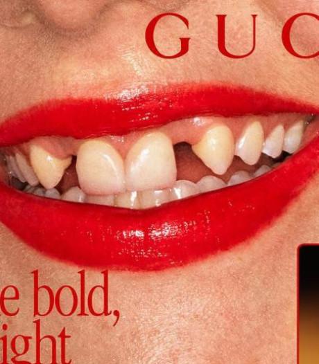 Des sourires loin des standards pour promouvoir les rouges à lèvres Gucci