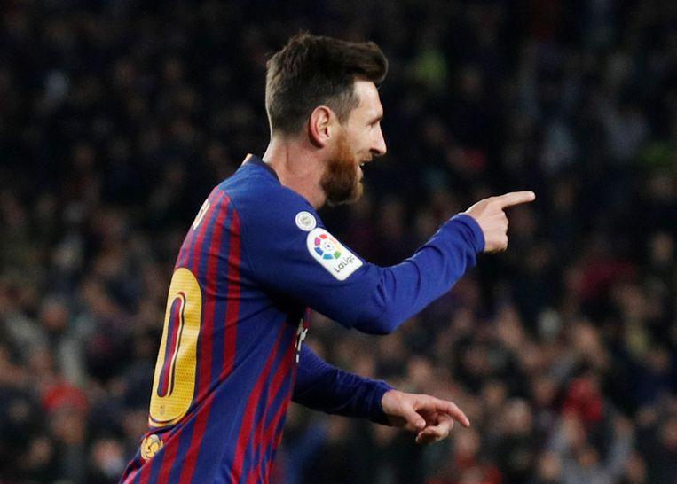 Live Dembele En Messi Bezorgen Barca Halfweg Dubbele Bonus