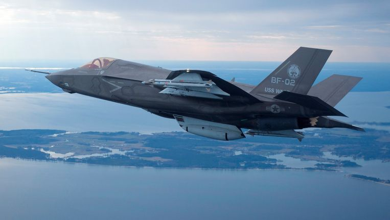 F35 Joint Strike Fighter. Beeld REUTERS