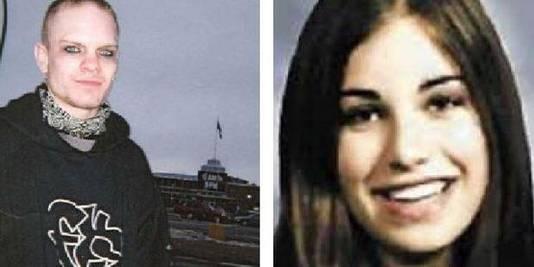 Links Jeremy Steinke en rechts Jasmine Richardson voordat ze onder de invloed van Steinke kwam. Samen vermoordden ze de ouders en het broertje van Jasmine.