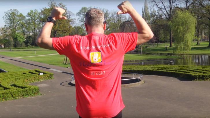 Emil loopt de Enschede Marathon voor ongeneeslijk zieke kinderen