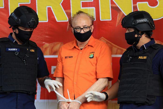 François Camille Abello le 9 juillet dernier lors d'une conférence de presse à Jakarta.