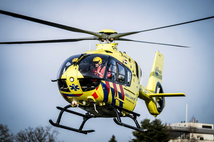 Een traumahelikopter kwam maandag 2 december op een bedrijfsongeval bij Houtindustrie Schijndel af.