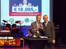 Benefiet levert 18.095 euro op voor Rode Kruis Bodegraven