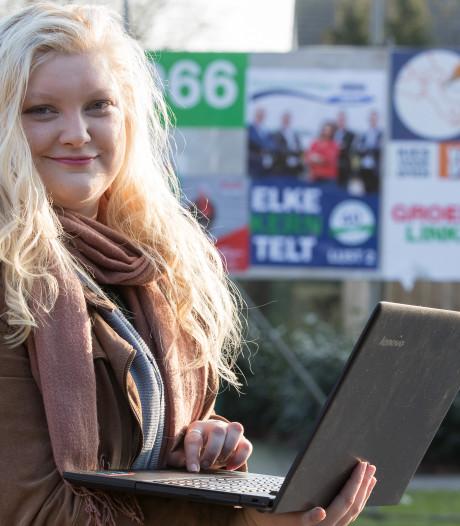 Lisanne Spanbroek analyseert politiek nu als buitenstaander