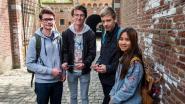 Studenten leren over fortengordel met app
