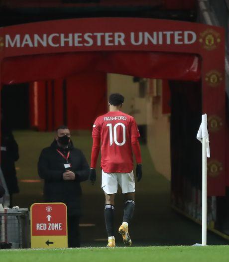 Manchester United vreest voor knieblessure Rashford
