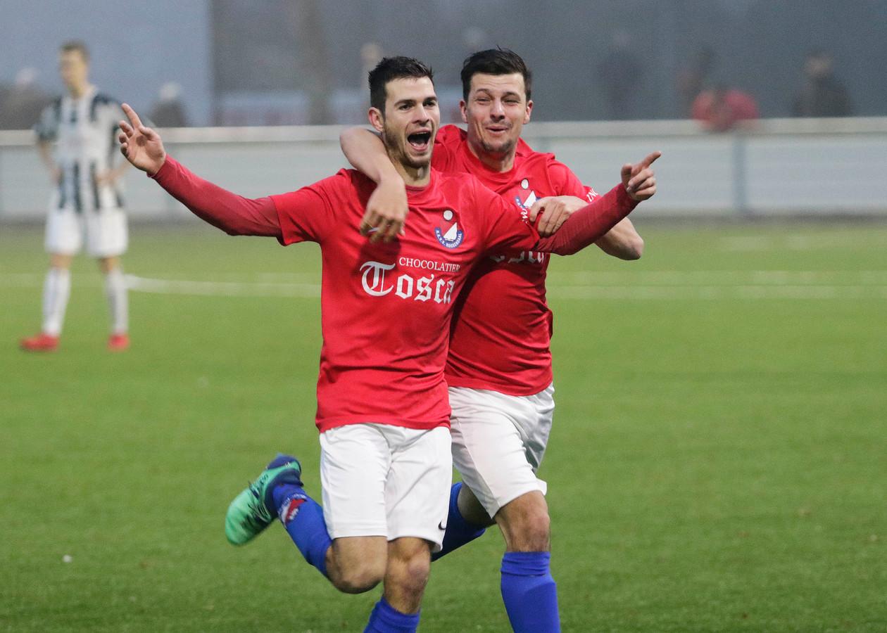 Kevin Jurgens scoorde vanaf eigen helft de 3-1 in het lege doel van SC Gastel.