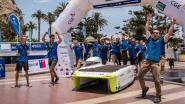 Historisch: Belgische zonnewagen pakt goud in Chili
