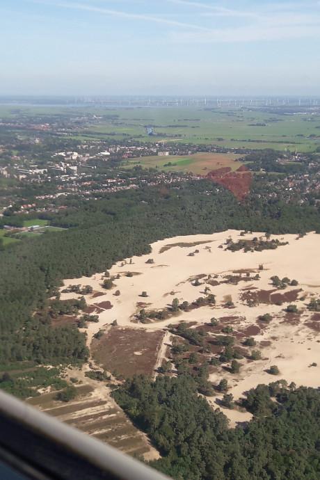 Dit zijn de Lange Duinen in Soest!