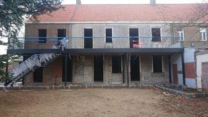 Ruwbouwwerken aan jeugdgebouw Westkerke klaar