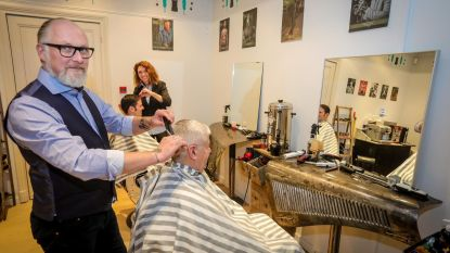 Haircrew Barbershop neemt intrek in kasteel