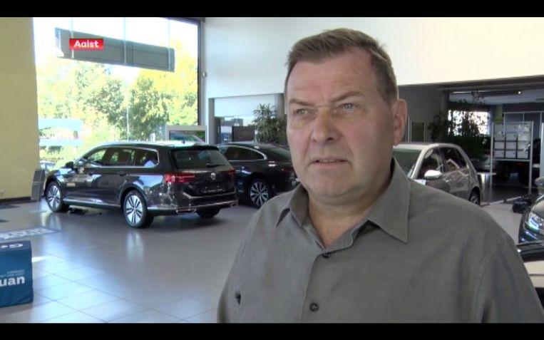 Autohandelaar Francois Thoen uit Aalst stelde vorige week dat Sébastien Delferière bij hem een Audi gekocht had.