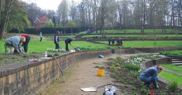 Steile tuin in park sonsbeek arnhem opgeknapt arnhem - Lay outs tuin steile ...