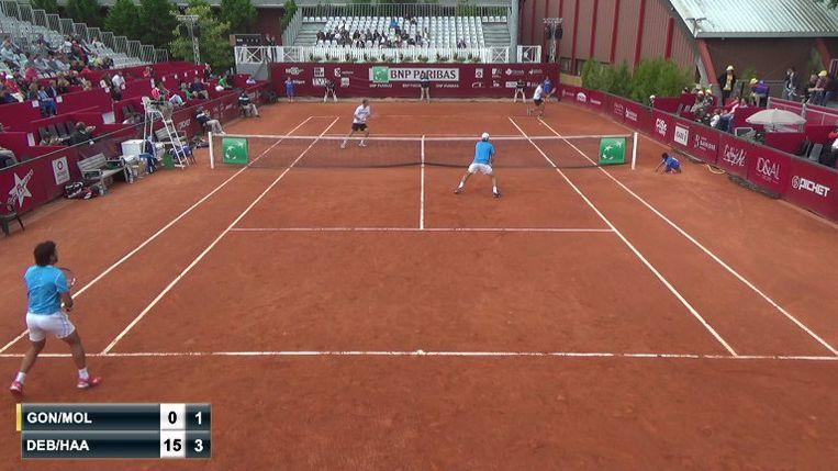 Beeld van het BNP Paribas Primrose, een Challenger-toernooi in Bordeaux.