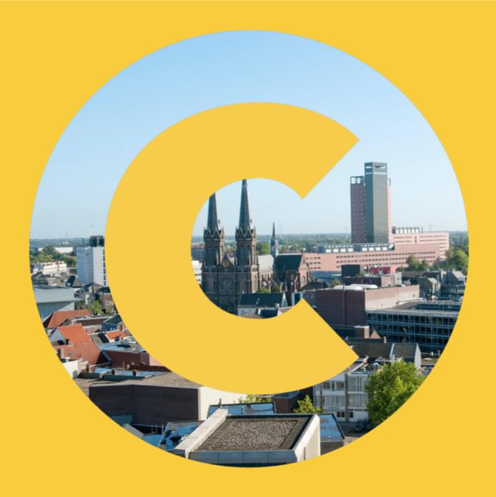 Het logo van het Centrum voor Stedenbouw en Architectuur Tilburg en omstreken
