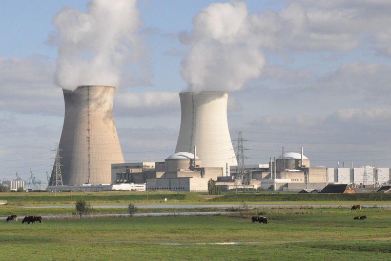 De grootste koeltorens in de Waaslandhaven zijn die van de kerncentrale van Doel.