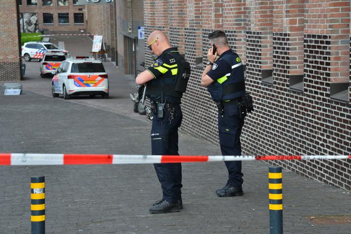 Bommelding op station Breda.