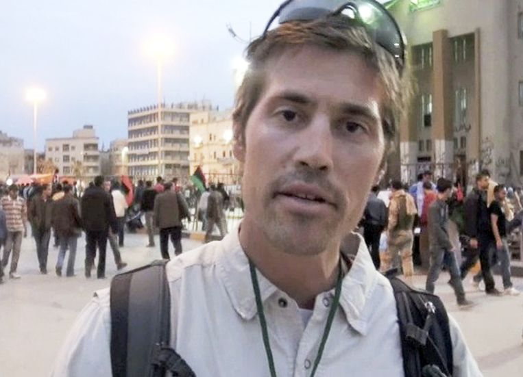 Journalist James Foley werd vorige maand onthoofd. Beeld ap