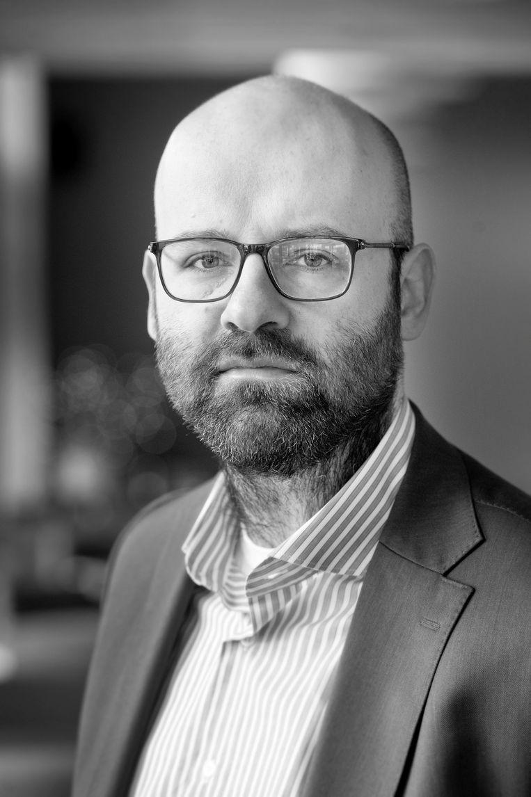 Lars Moratis, lector Duurzaamheid aan Breda University of Applied Sciences. Beeld Edwin Wiekens