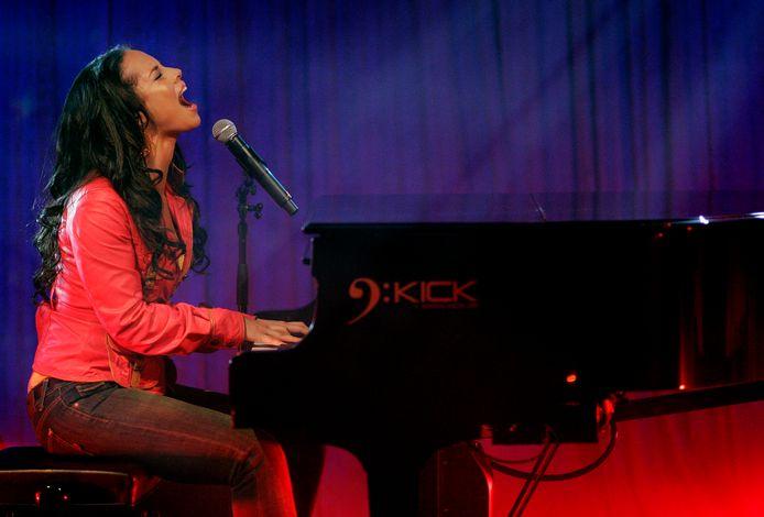 Alicia Keys.
