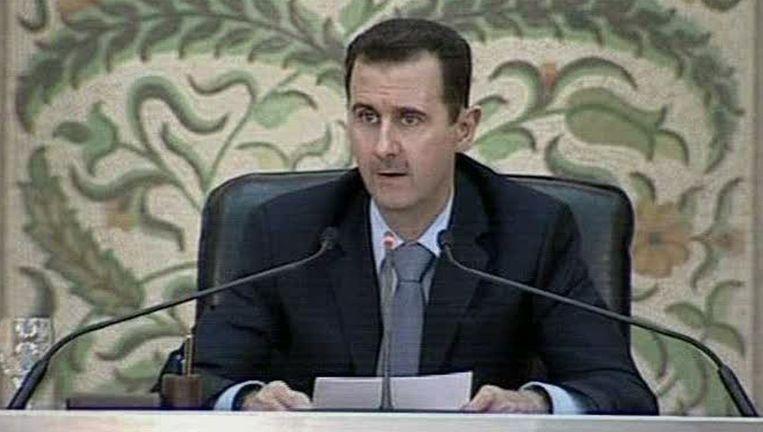 Bashar al-Assad Beeld ap