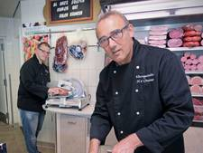 Harry van Orsouw legt het slagersmes neer, na het barbecueseizoen