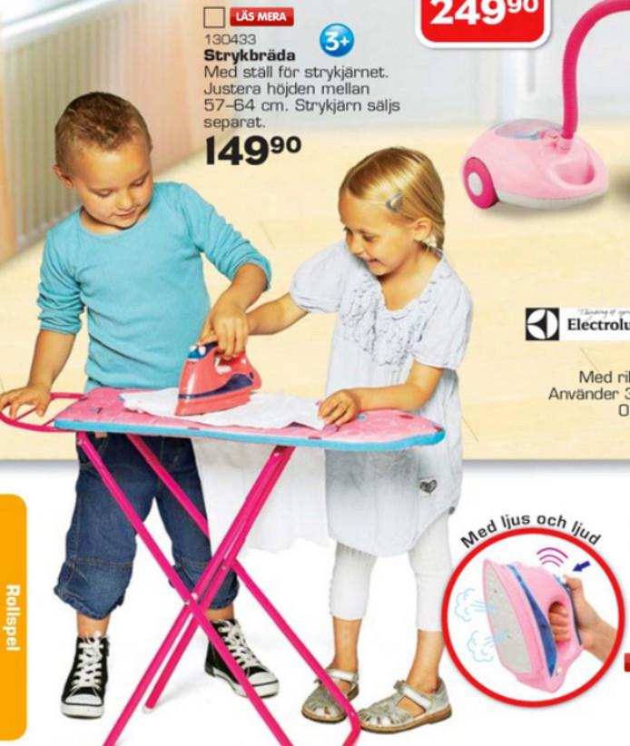 Speelgoed Zweden strijken